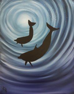 Tanssivat delfiinit