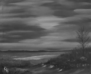 Pimeimmällä rannalla