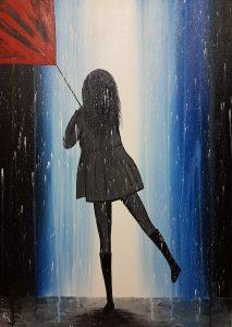 MYYTY - Tyttö sateessa