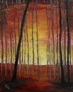 Palava metsä